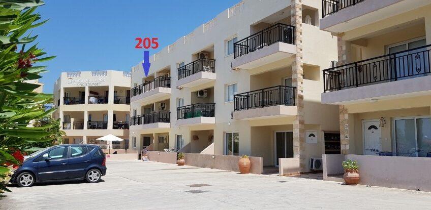 Апартаменты в районе Гробницы Королей, Пафос