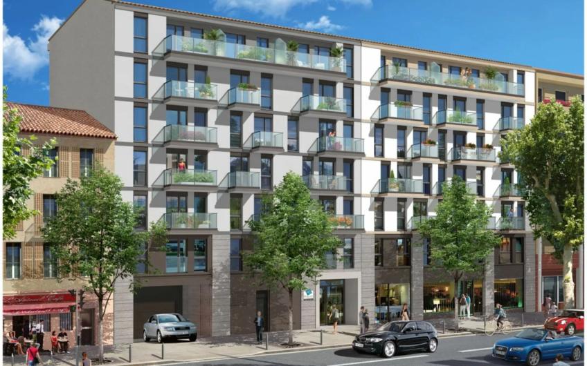 Двухкомнатные квартиры в новостройке в Ницце